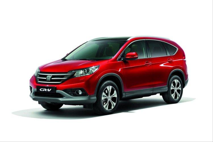 EVA коврики для Honda CR-V IV 2012-